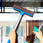 Mycie okien i powierzchni przeszklonych