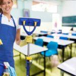 Sprzątanie powierzchni przedszkolnych